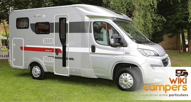 Bien choisir son camping-car pour la location - camping-car profilé