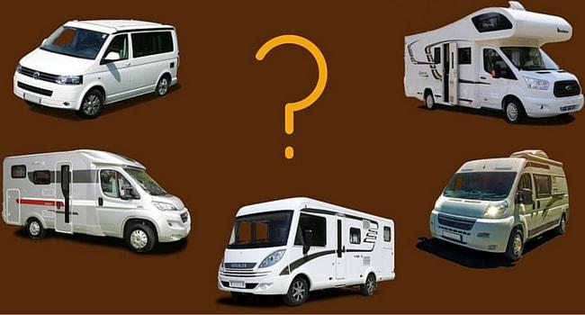 types de camping car