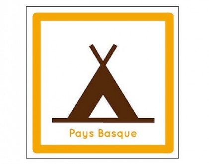 logo campings pour camping-car pays basque