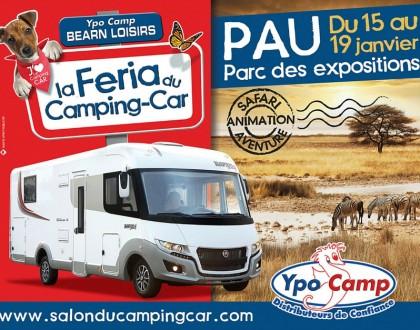 Féria du Camping-Car à Pau 2015