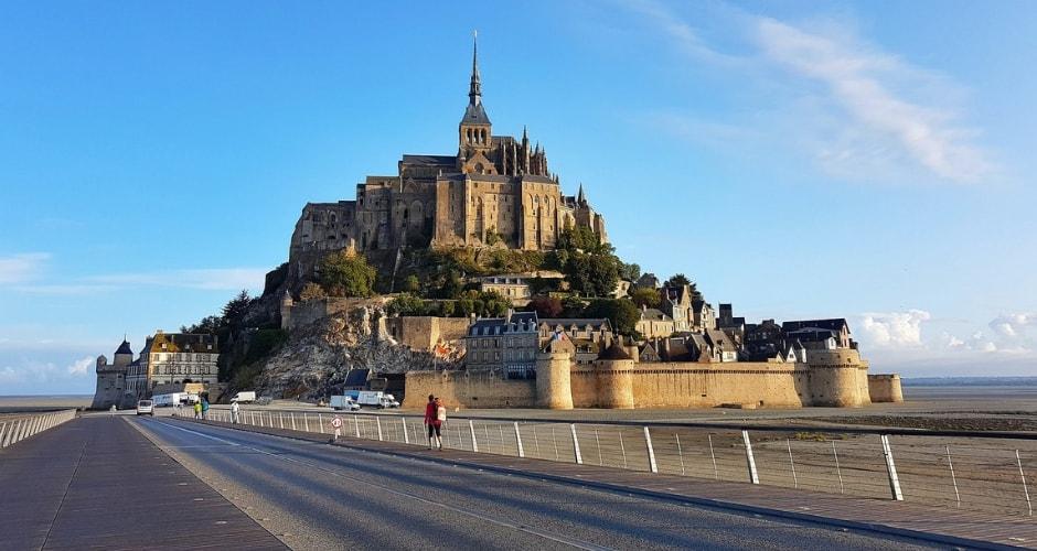 En route vers le Mont-Saint-Michel en camping-car