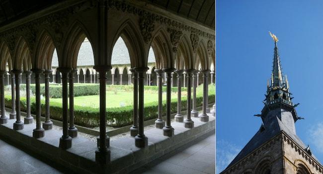 En route vers le Mont-Saint-Michel en camping-car_Abbaye