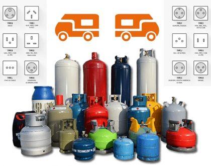 adaptateurs gaz prise electrique internationale camping-car