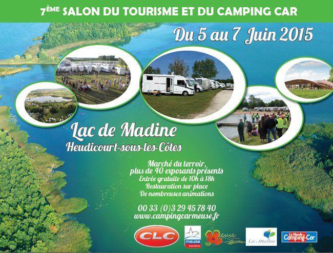 Salon du tourisme et du camping car au Lac de Madine !