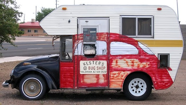 camping car déguisé