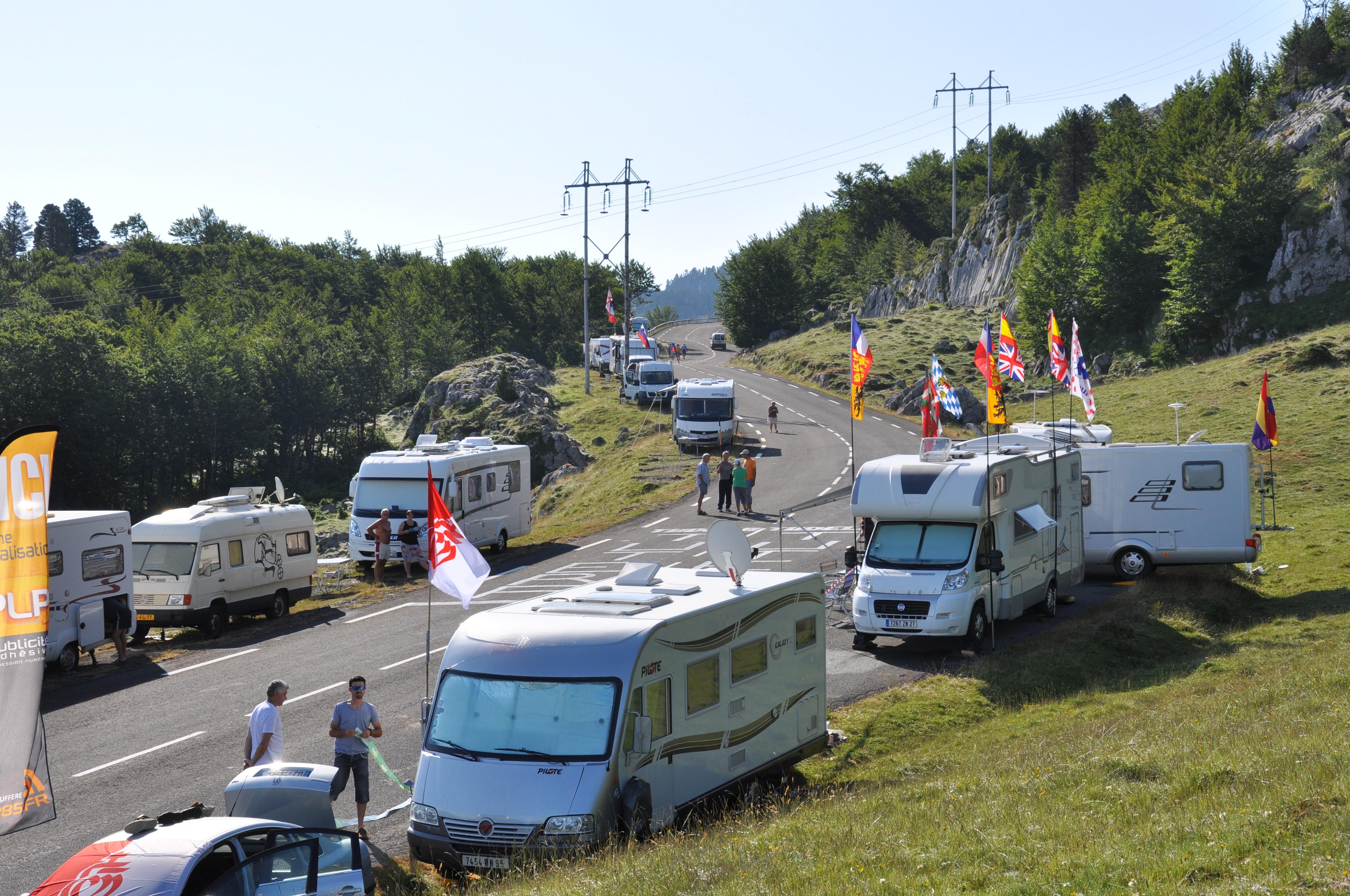 Wikicampers sur le tour de France !