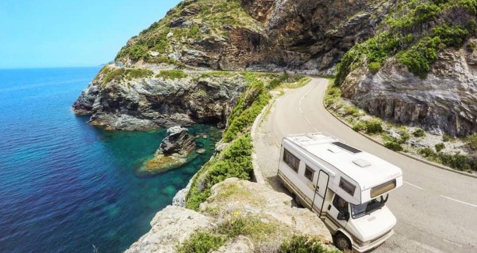 En route vers la Corse en camping-car