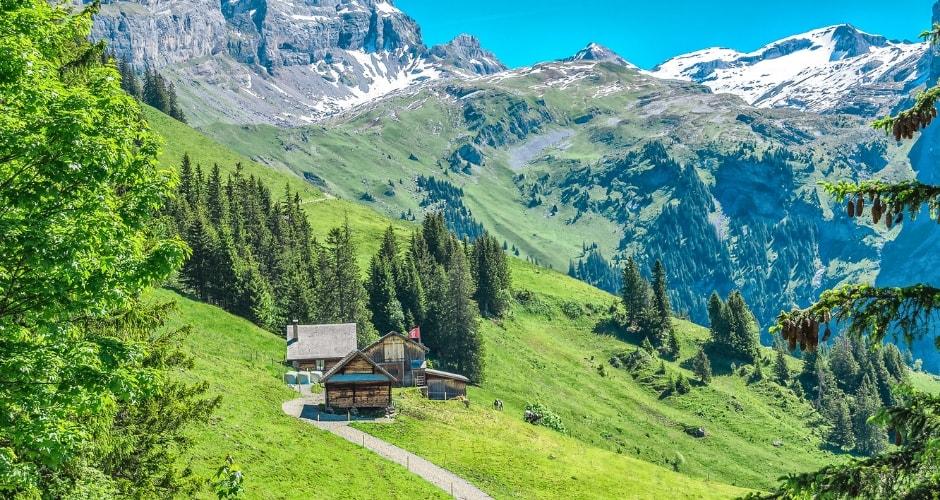 En route vers la Suisse en camping-car !