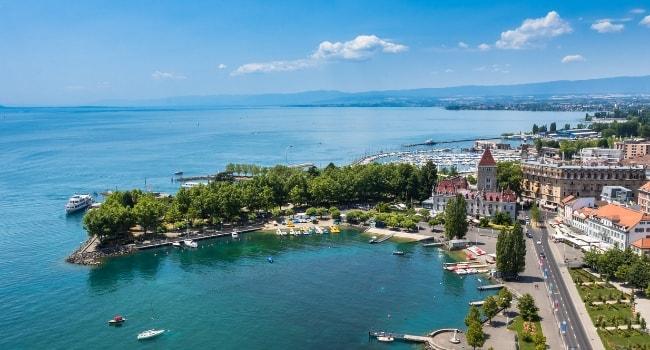 En route vers la Suisse en camping-car_Lausanne