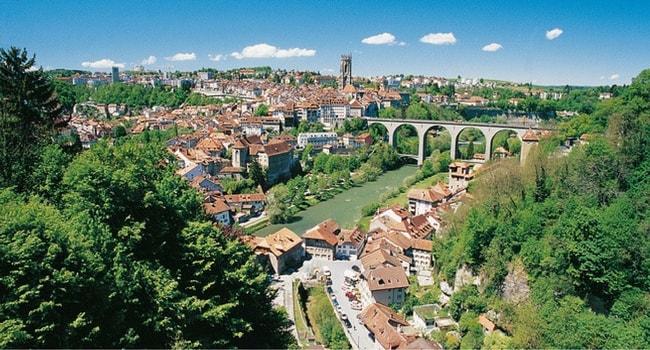 Suisse en camping-car_Fribourg
