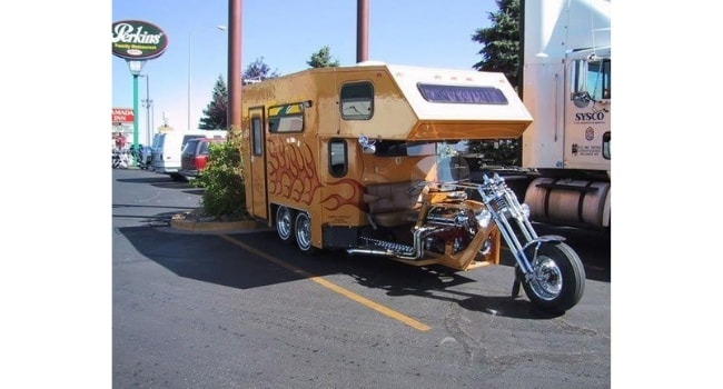 camping-car insolites