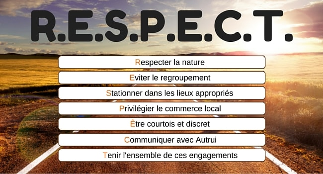 charte respect camping-car