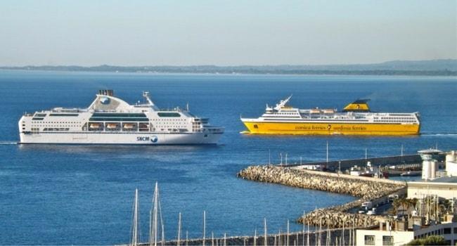SNCM et Corsica Ferries