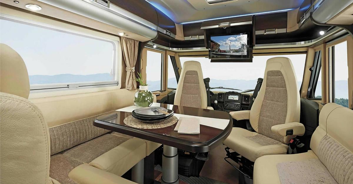 Assez Top 10 des plus beaux intérieurs de camping-car IW29