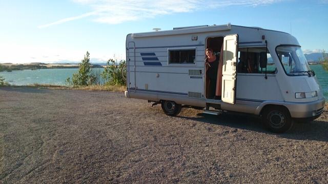 Bardenas Espagne Camping-car