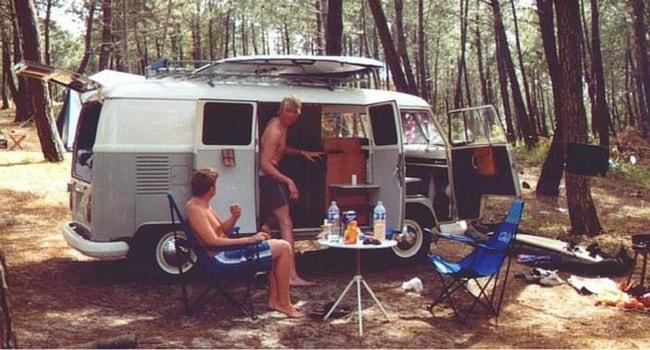 Surf et camping-car