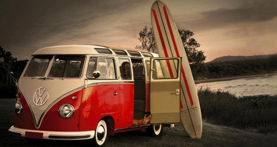 Surf-trip et camping-car