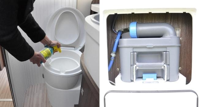 Comment entretenir son camping-car_Entretien des toilettes