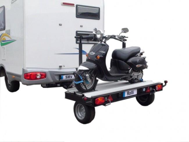 transporter ses 2 roues en camping-car