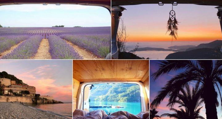 En route vers la région PACA en camping-car