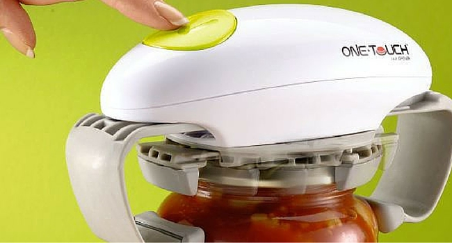 Ouvre bocal one touch cuisine camping-car