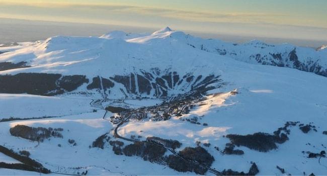 Station de ski en Auvergne