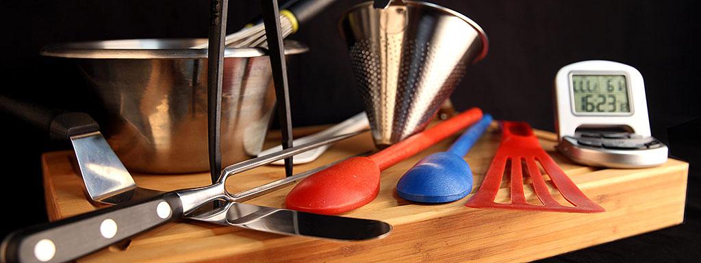 Top 5 ustensiles pour la cuisine de votre camping-car