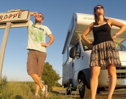 Les Péripléties de Pauline et Simon en camping-car