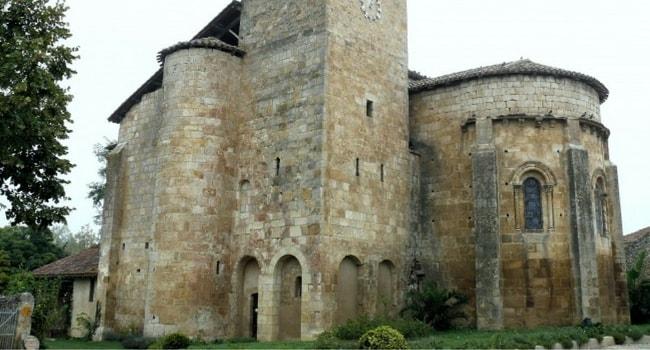 Eglise romane de Mouchans