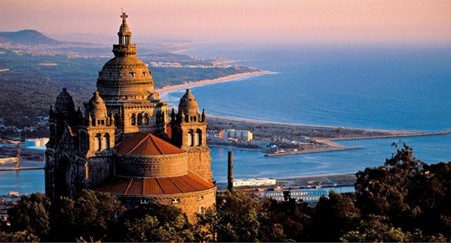 Monte de Santa Luzia , Viana do Castelo , Regio Norte , Portugal , Europe