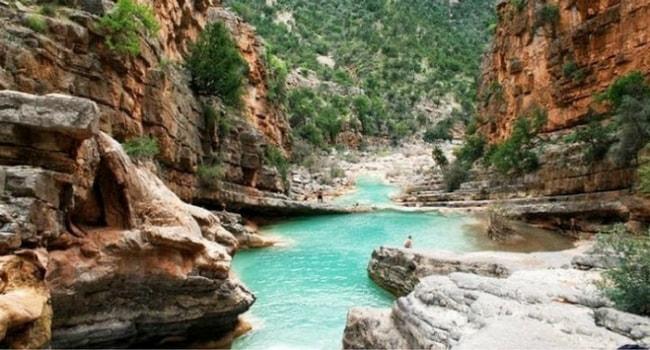 Vallee paradis Maroc
