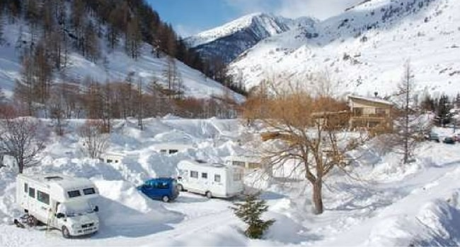 Abries en Queyras camping-car