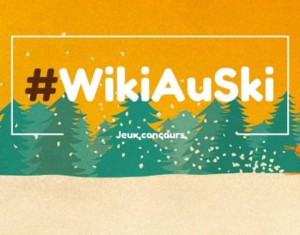 Le jeu concours #WikiAuSki