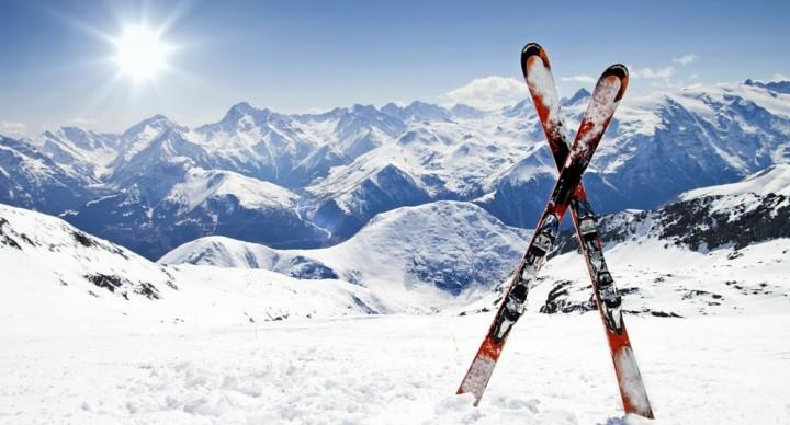 En route vers le ski en camping-car