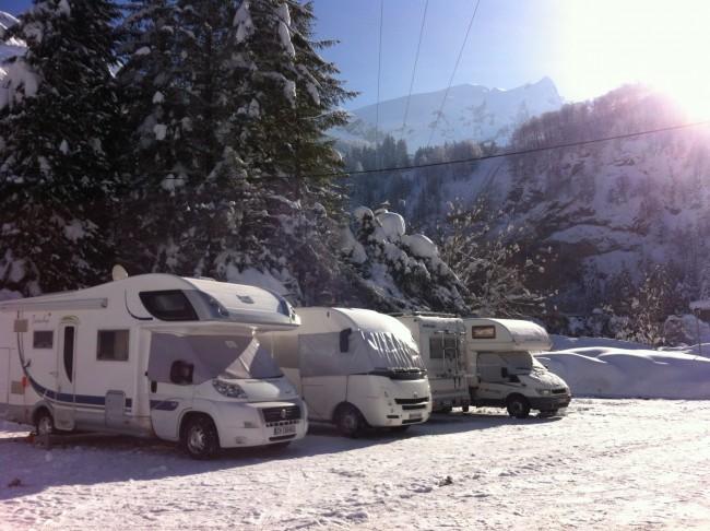 Gourette camping-car