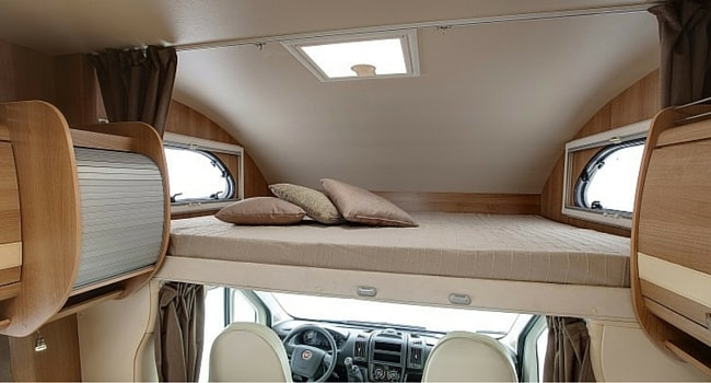 Lit Capucine camping-car