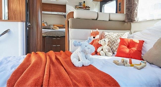 Lit Dinette camping-car