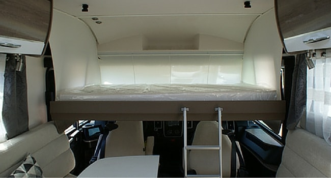 Lit Pavillon camping-car
