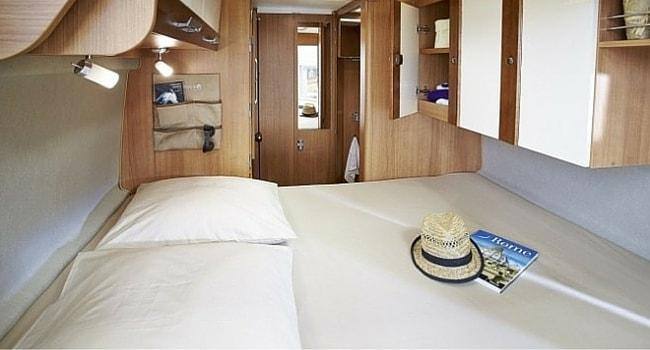Lit Transversal camping-car