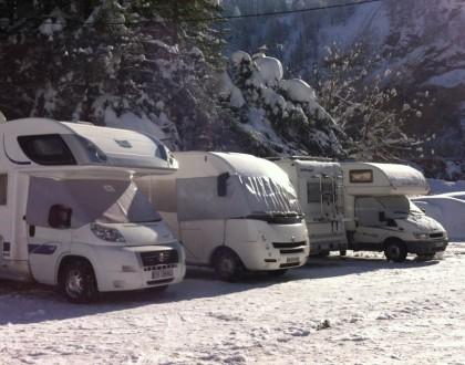 Bien préparer ses vacances au ski en camping-car