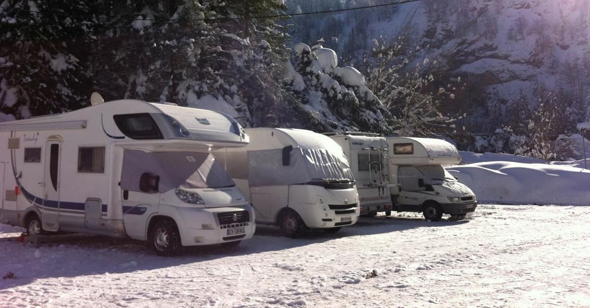 Ski camping-car