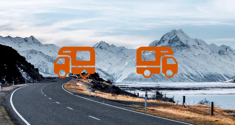 Equipements pour partir au ski en camping-car