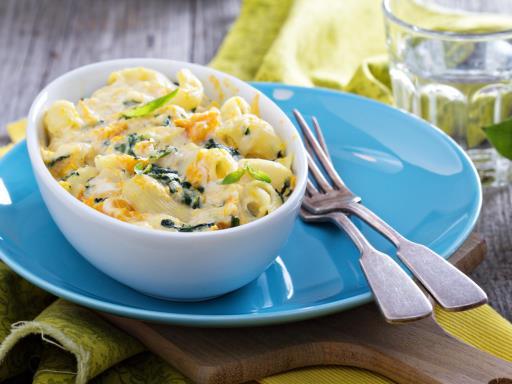macaronis aux champignons