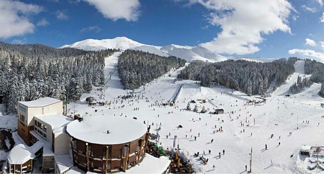 Ski dans le Massif Central en camping-car station le Lioran