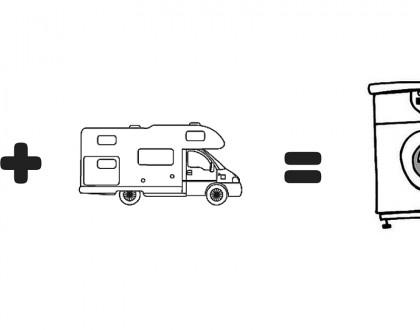 Laver son linge en camping-car