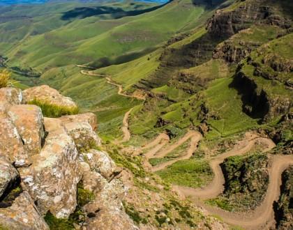Route du col de Sani