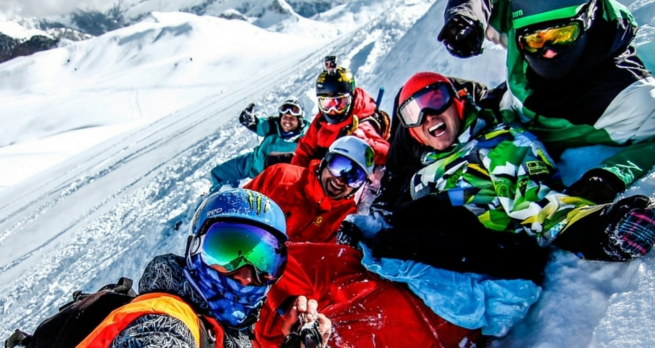 Ski europe camping-car
