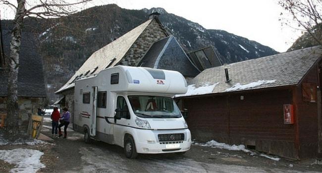 baqueira camping-car