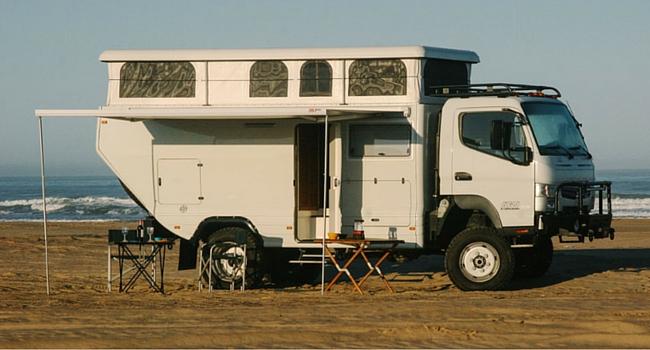 Alpha camper camping-car tout terrain