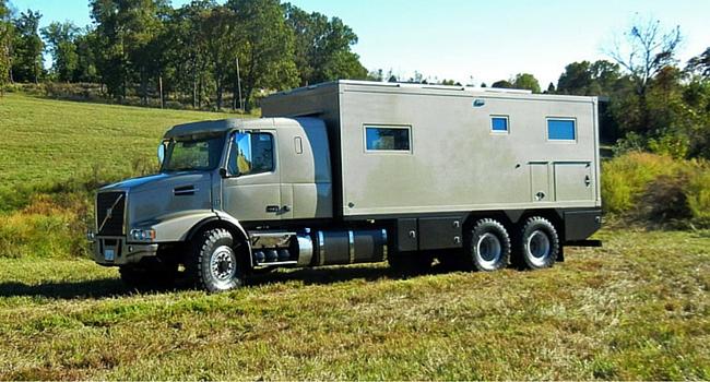 GXV base Volvo camping car toiut terrain